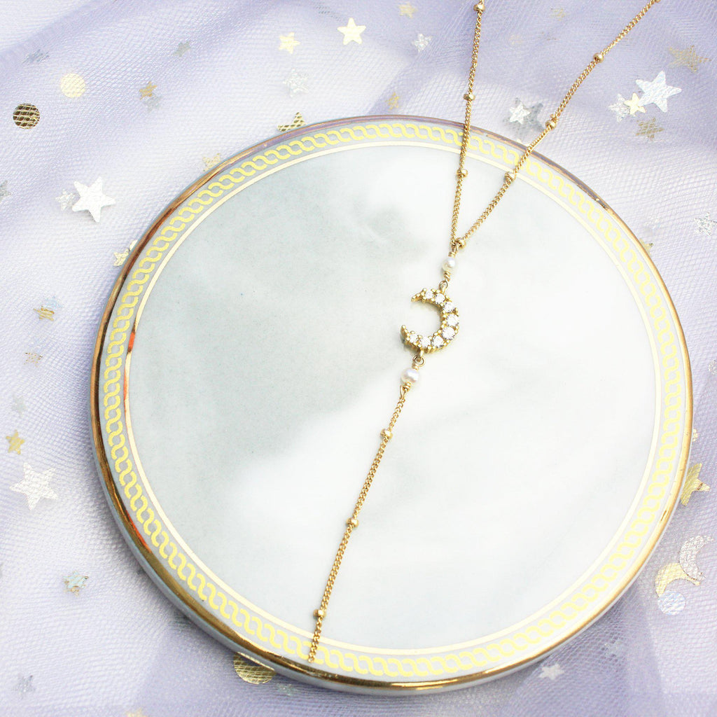 Goddess Night Necklace-Adorn Necklace-La Meno