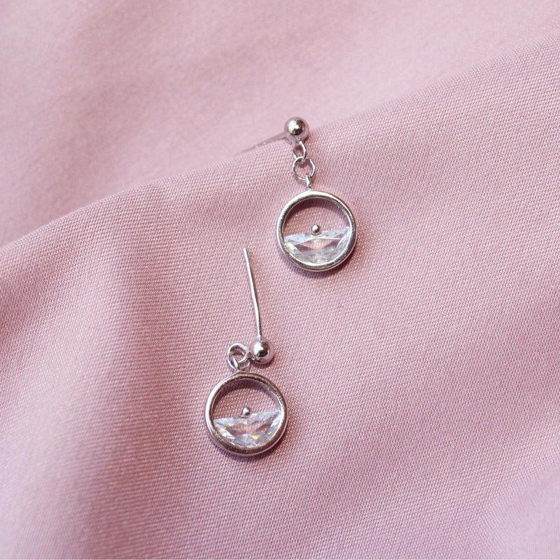 Half Crystal Earring-Limited Edition-La Meno