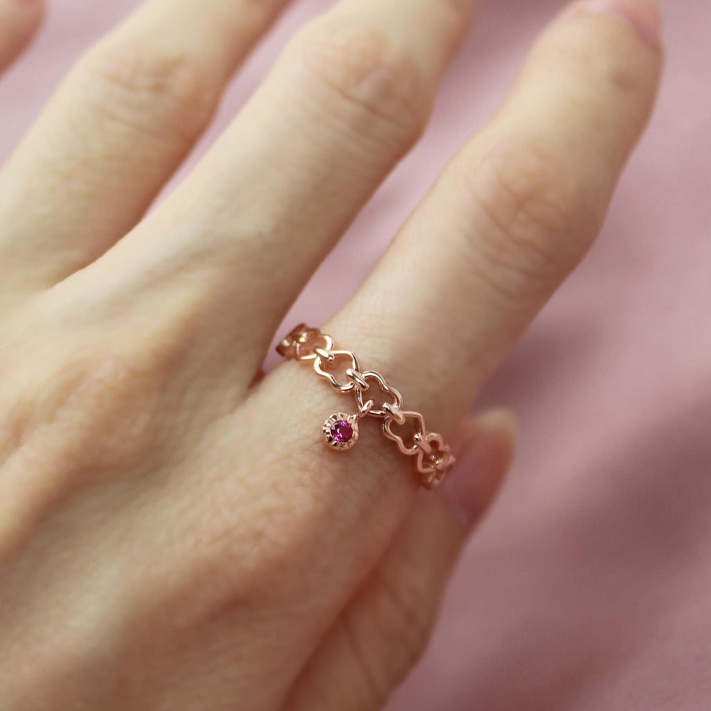 Heart Chain Ring-Limited Edition-La Meno