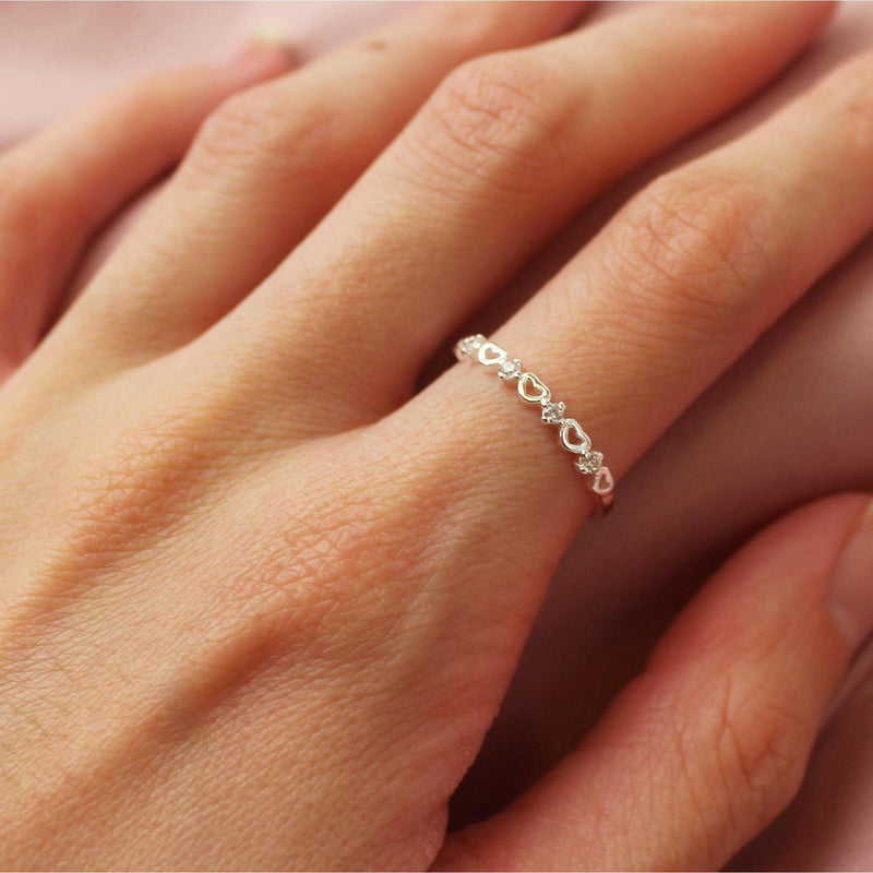 Infinity Heart Ring-Limited Edition-La Meno