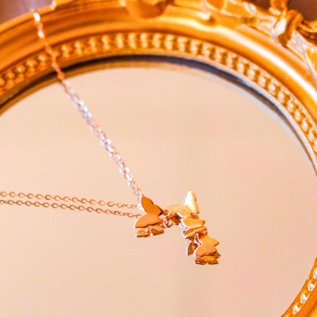 Lady Butterfly Necklace-Limited Edition-La Meno