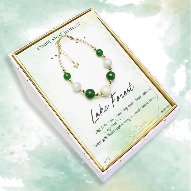 Lake Forest-Energy Stone Bracelet-La Meno