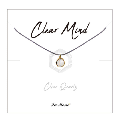[LALA] Clear Mind Necklace-LALA Necklace-La Meno