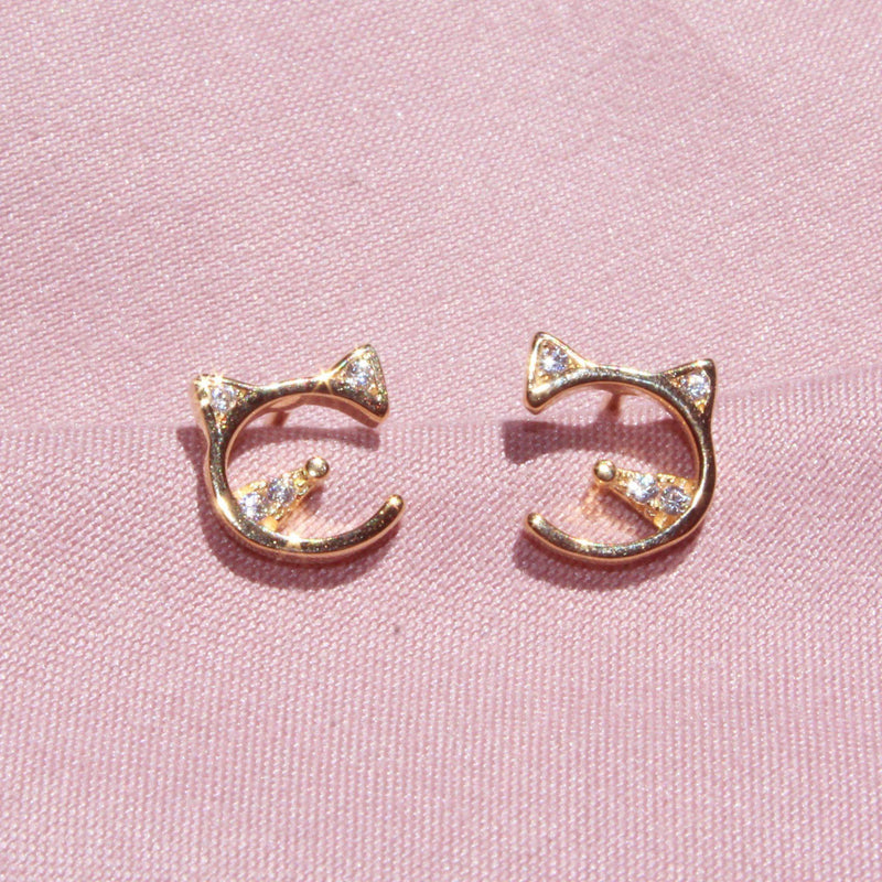 Little Kitten Earrings-Limited Edition-La Meno