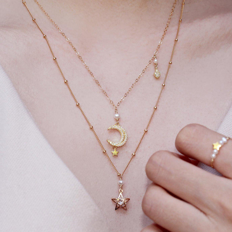 Little Shining Star Necklace-Adorn Necklace-La Meno