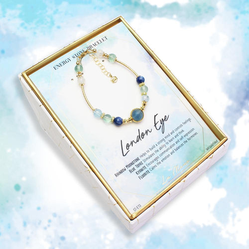 London Eye-Energy Stone Bracelet-La Meno