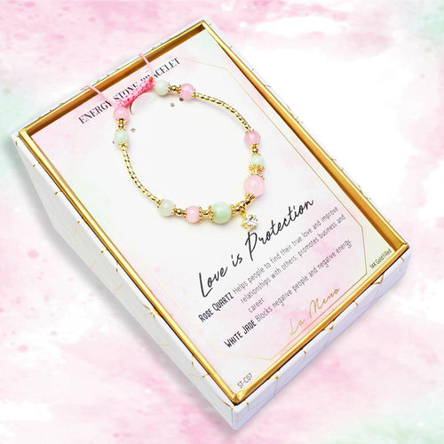Love Is Protection-Energy Stone Bracelet-La Meno