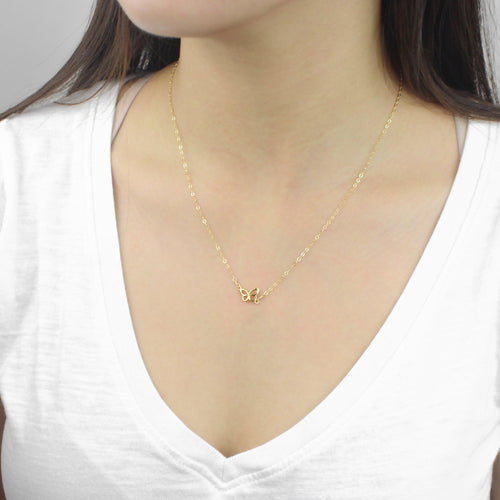 [Lucky Charm] Butterfly Necklace-Lucky Charm Necklace-La Meno