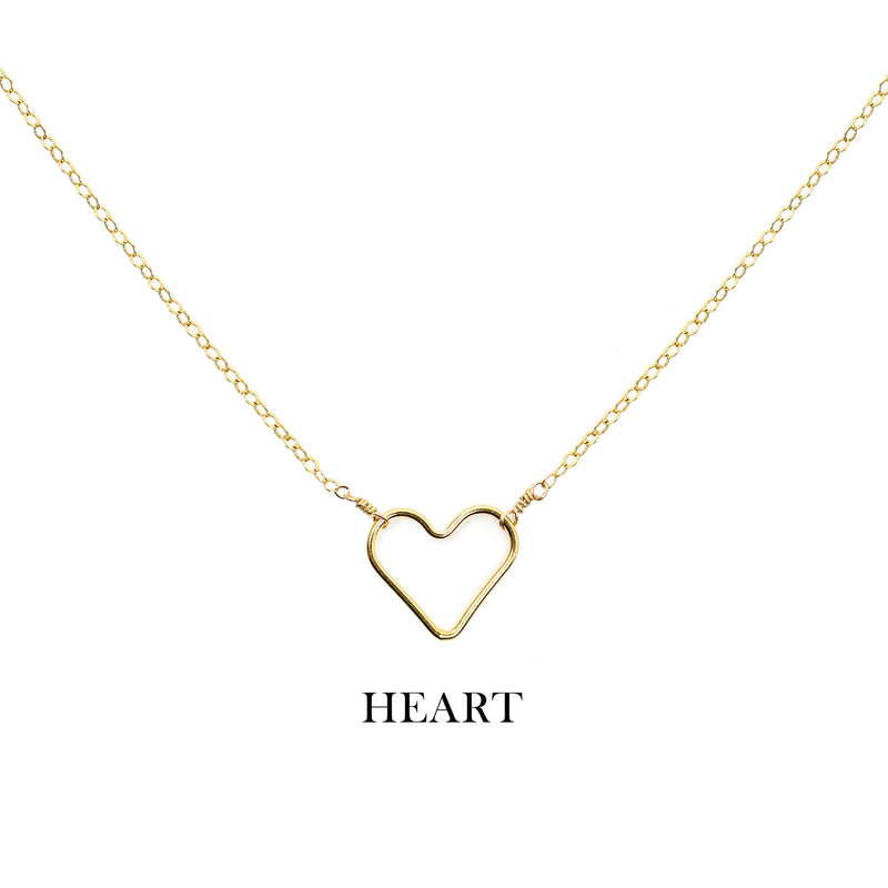 [Lucky Charm] Heart Necklace-Lucky Charm Necklace-La Meno