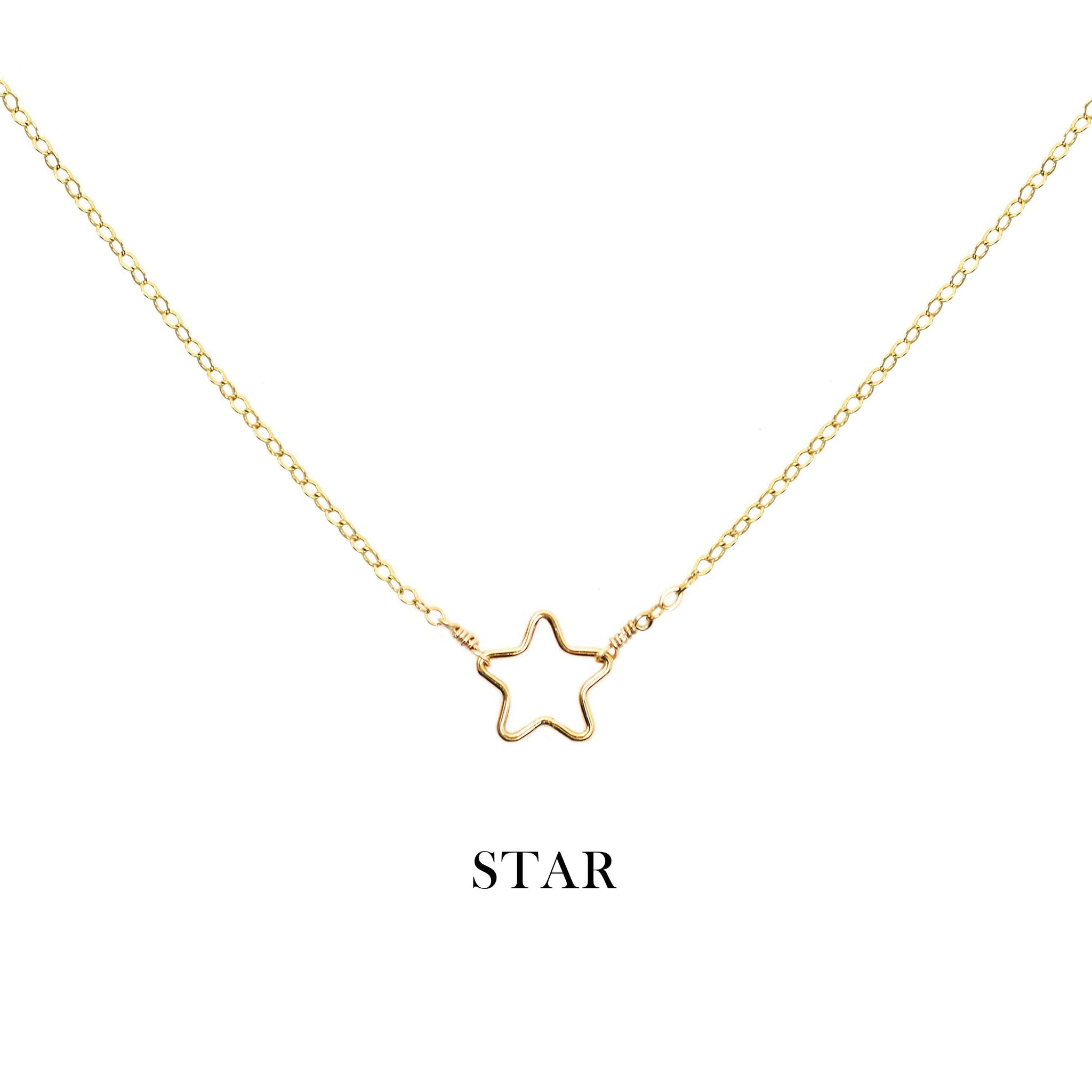 [Lucky Charm] Star Necklace-Lucky Charm Necklace-La Meno