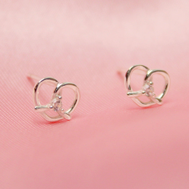 Lucky Pretzel Earrings-Limited Edition-La Meno