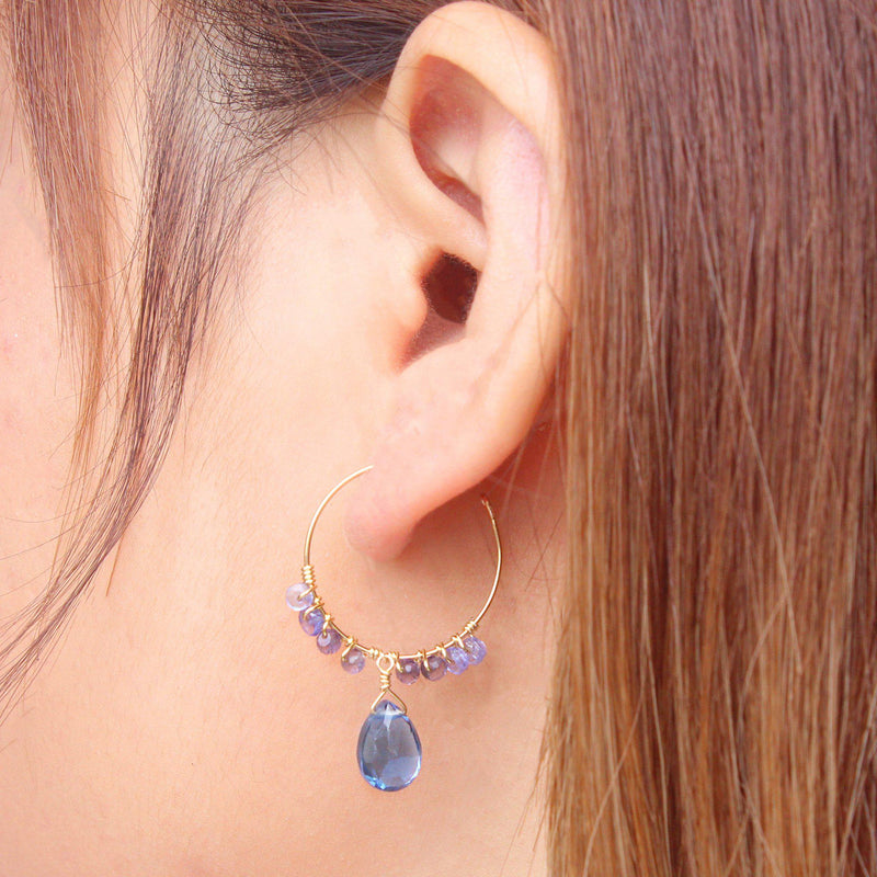 Misty Night Earring-Adorn Earring-La Meno