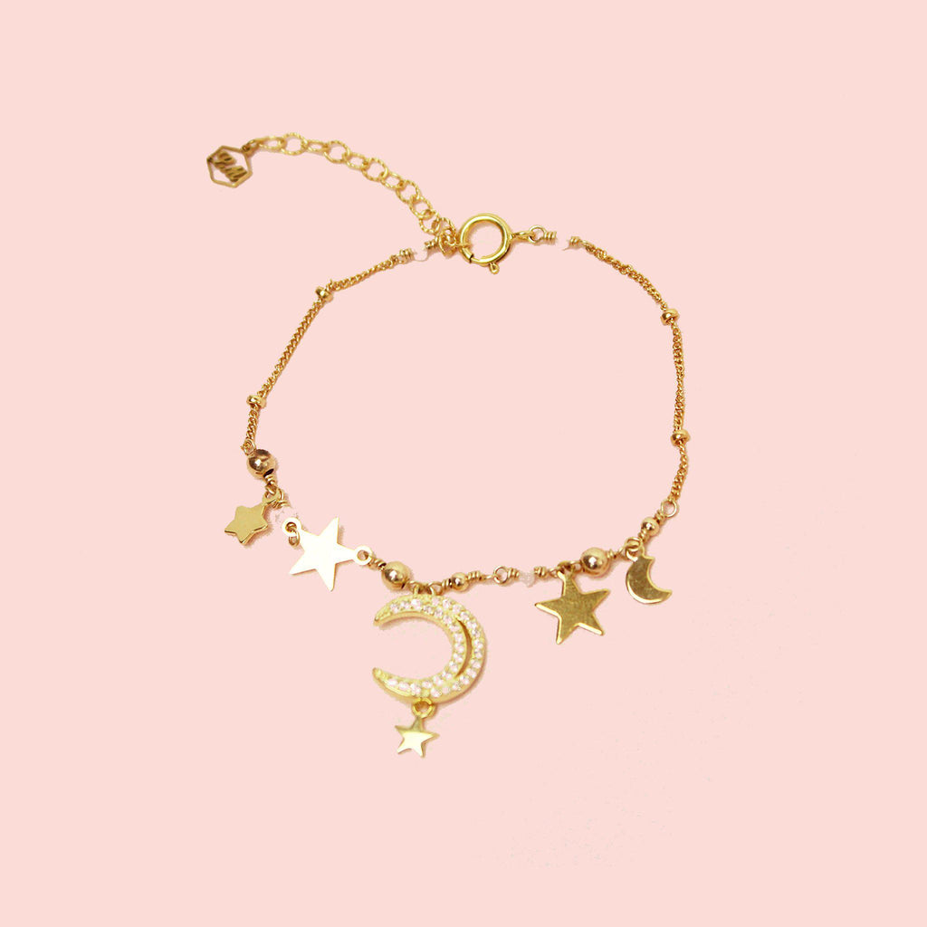 Romantic Night Bracelet-Adorn Bracelet-La Meno