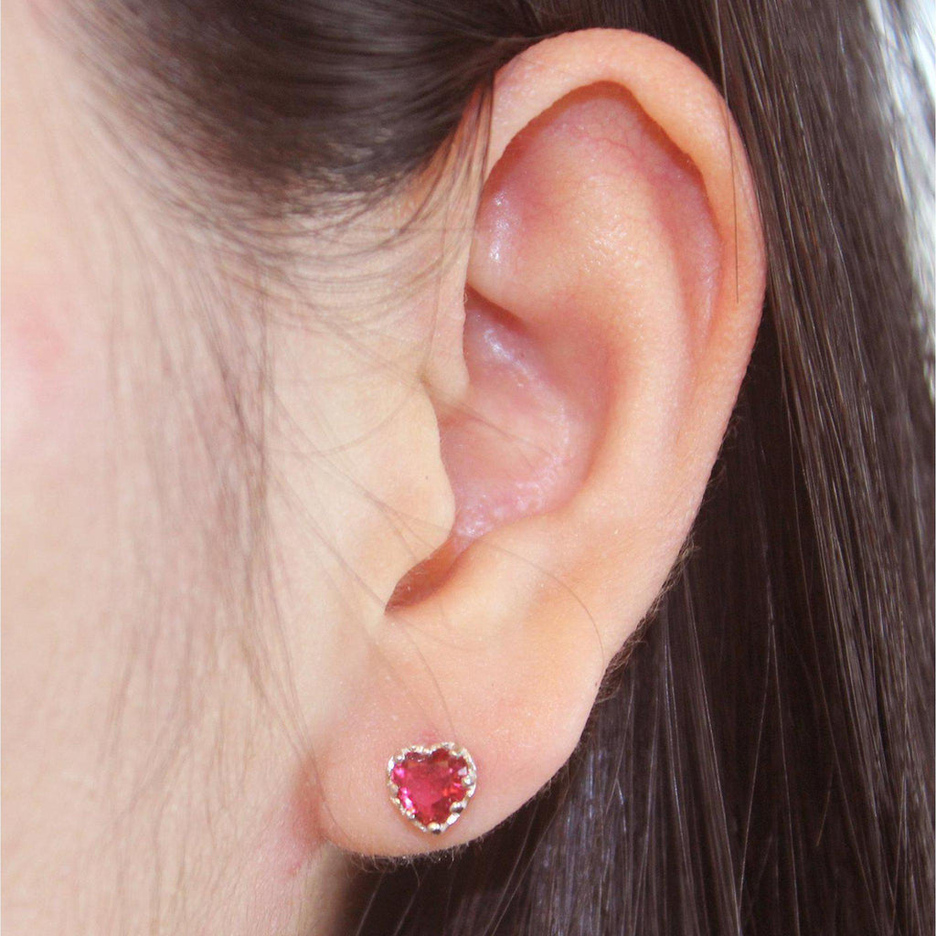 Ruby Earring-Limited Edition-La Meno