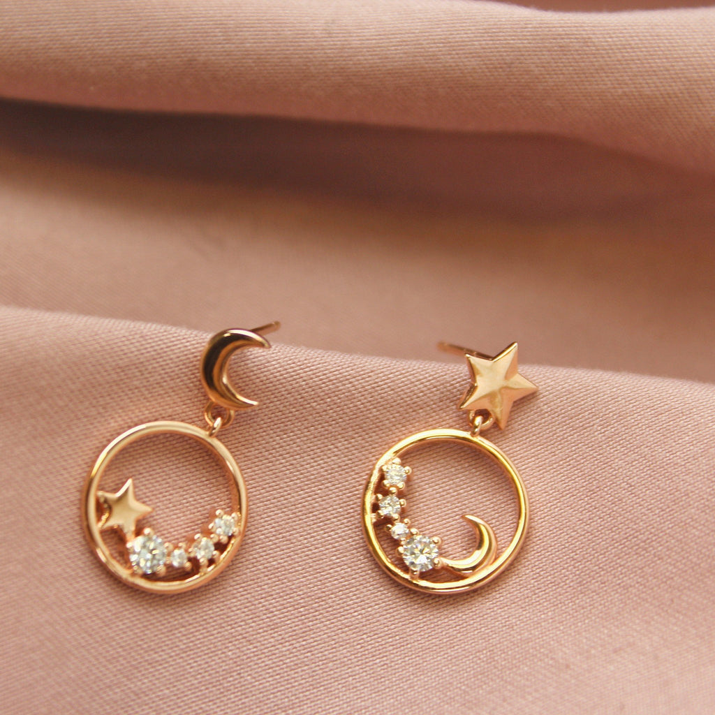Sky Full of Stars Earrings-Limited Edition-La Meno