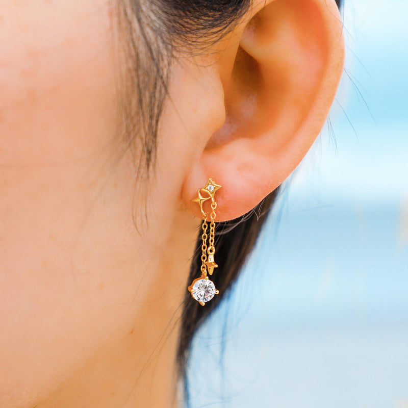 Sparkling Drops Earrings-Limited Edition-La Meno