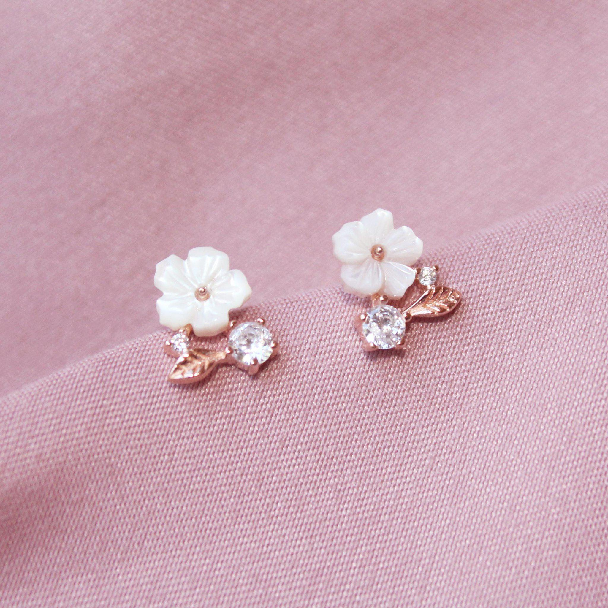 Spring Floral Earrings-Limited Edition-La Meno