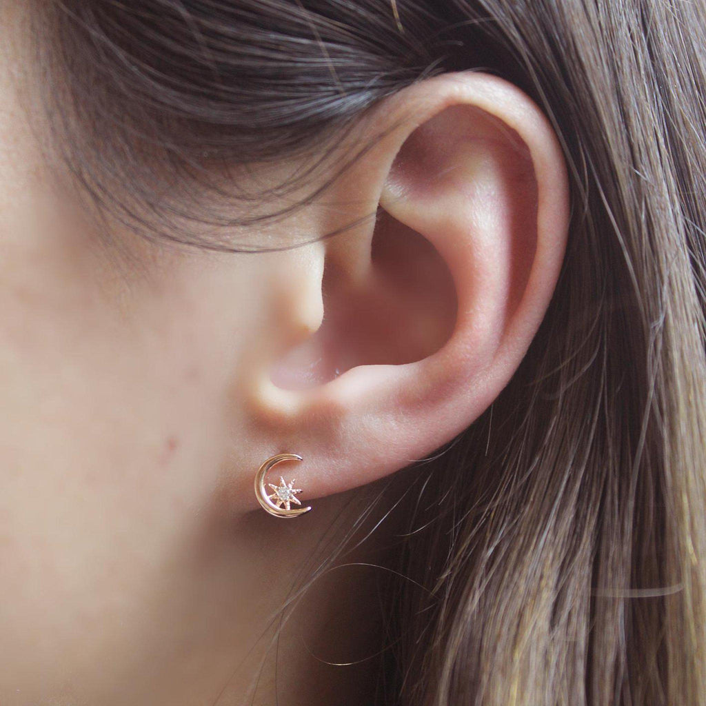 Sprinkle Asymmetric Earring-Limited Edition-La Meno