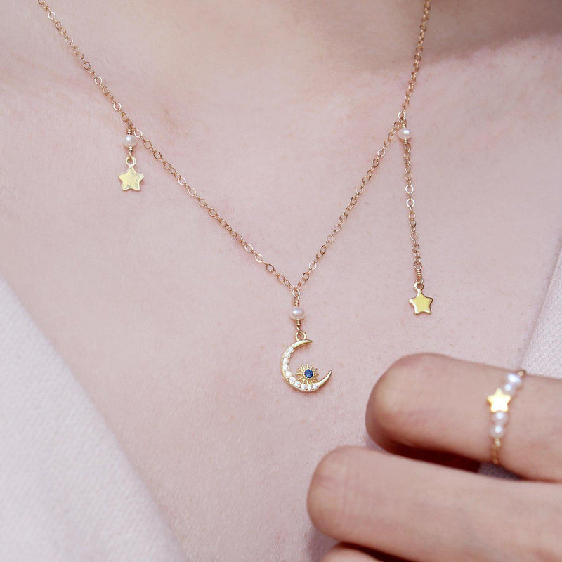 Starry Night Necklace-Adorn Necklace-La Meno