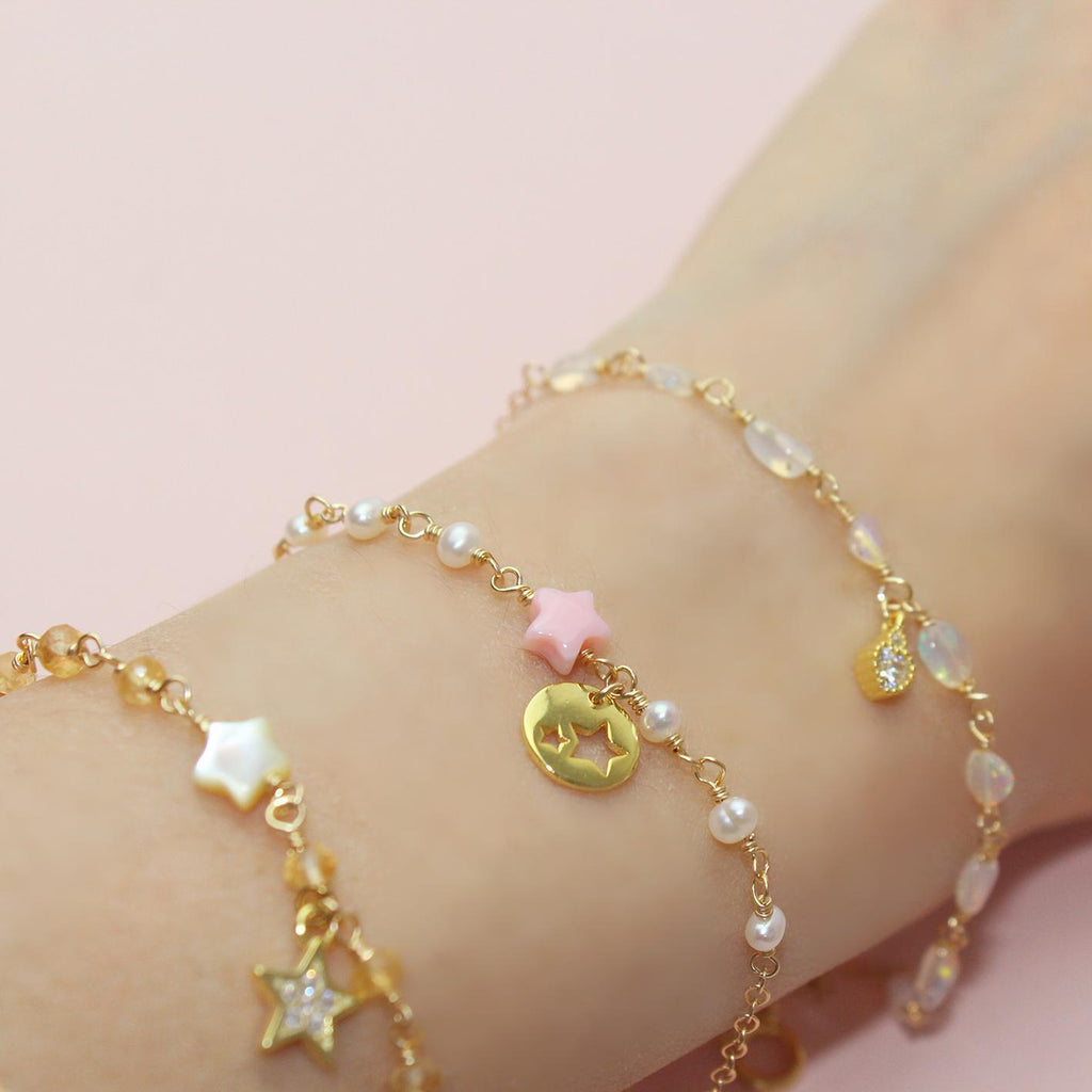 Star within Star Bracelet-Adorn Bracelet-La Meno