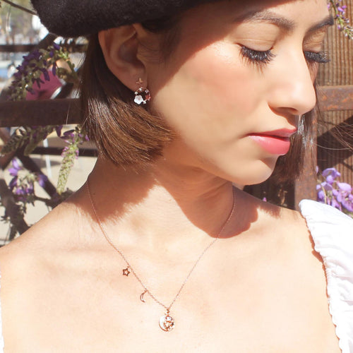Stars Filled with Sky Necklace-Limited Edition-La Meno