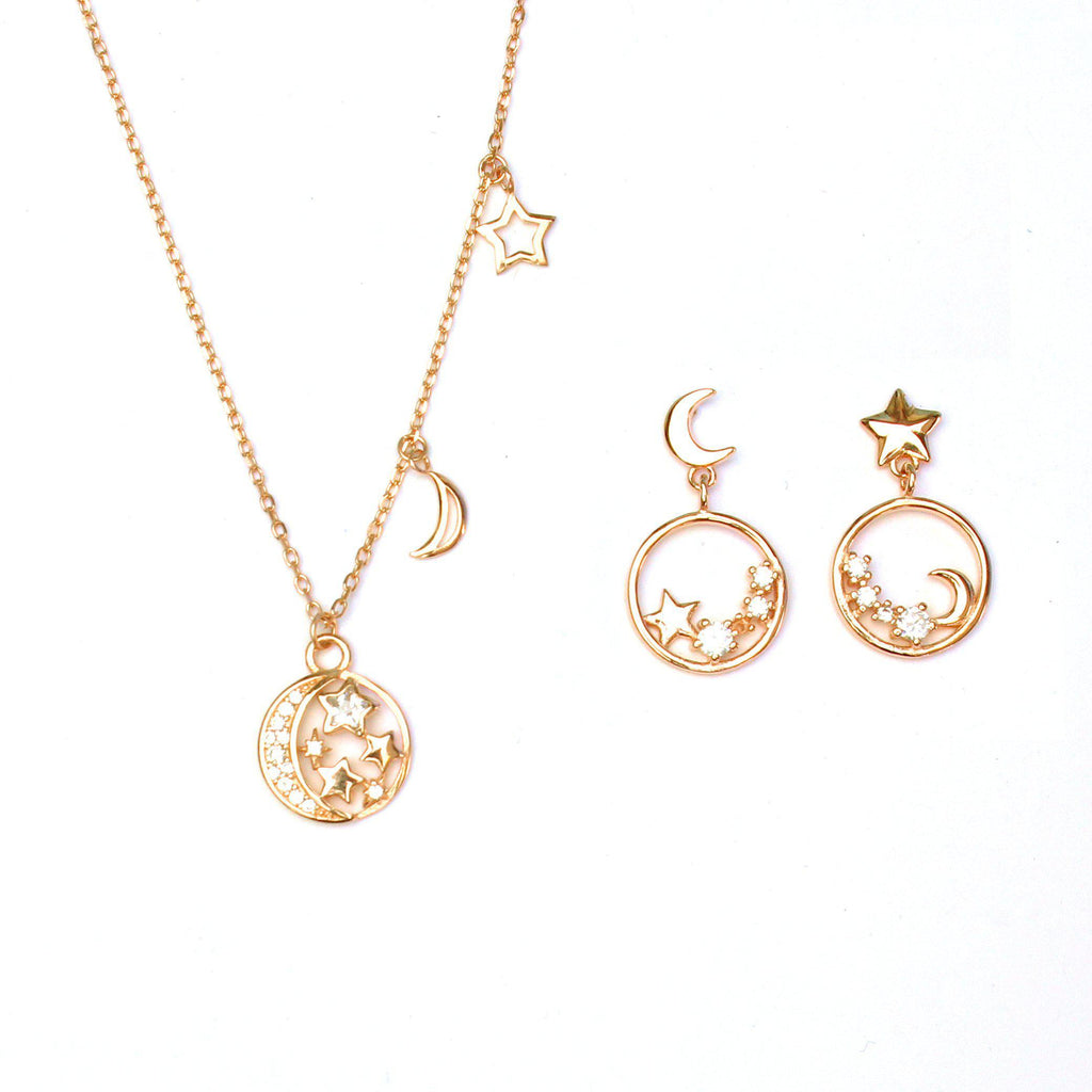 Stars Filled with Sky Set-Jewelry Set-La Meno