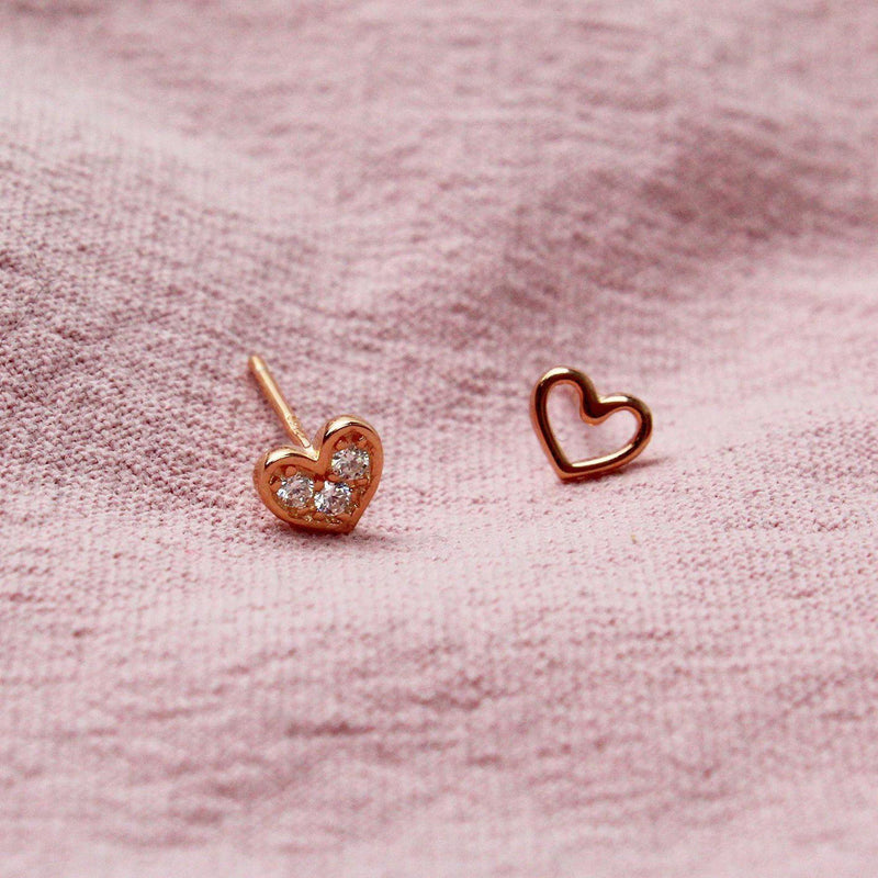 Twinnie Heart Earring-limited edition-La Meno