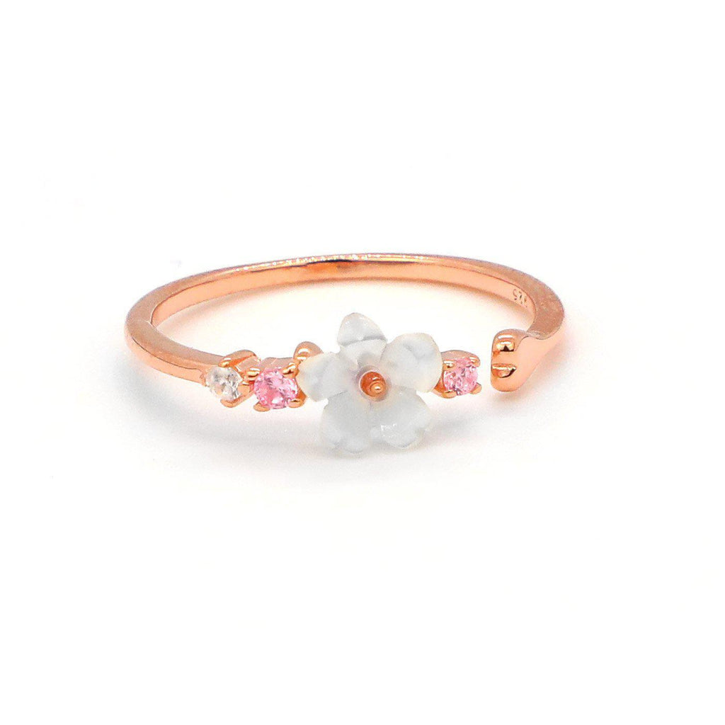 White Flower Ring-Limited Edition-La Meno