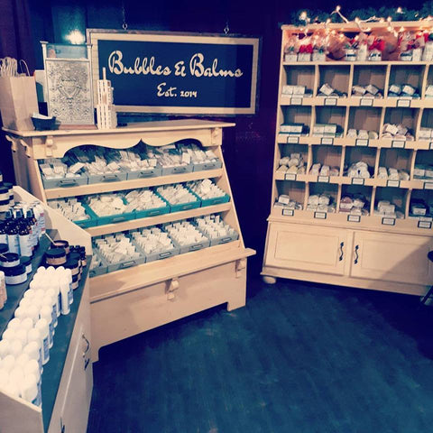 Bubbles & Balms at Spruce Meadows Christmas Market in 2017