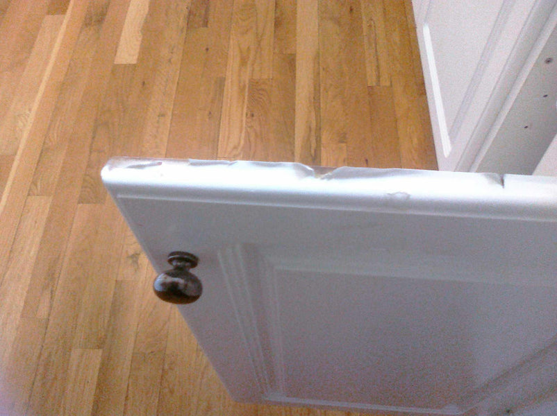 How to fix Thermal foil cabinet doors