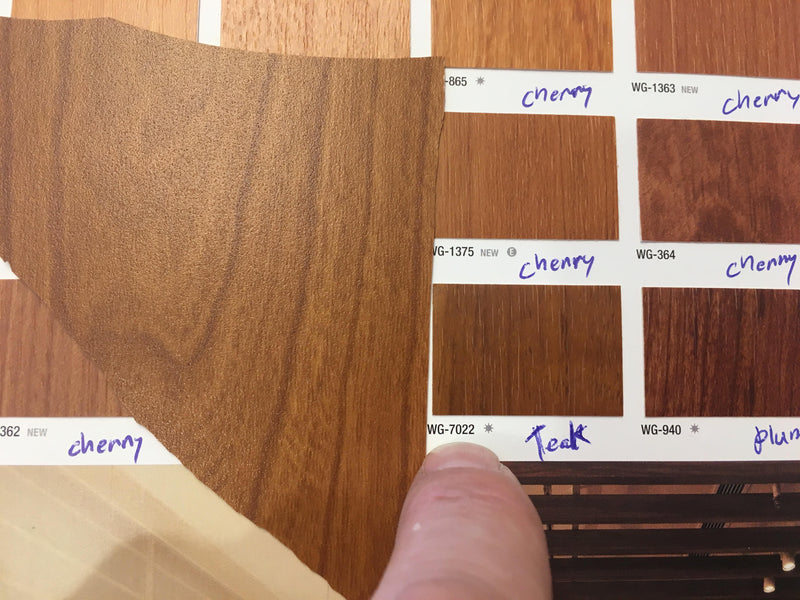 Color Matching Wood Grains