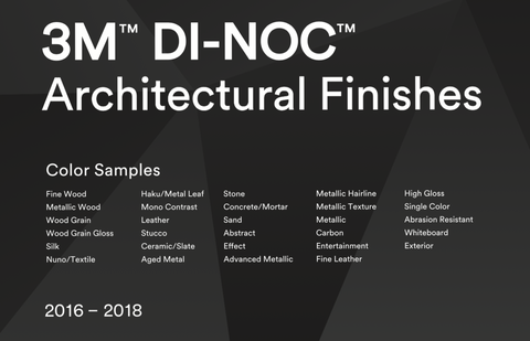 3M Di-noc Sample Book PDF File 2018