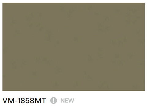 3M™ DI-NOC™, Smooth Metal, 1858, Matte, Architectural Finishes, Rm Wraps