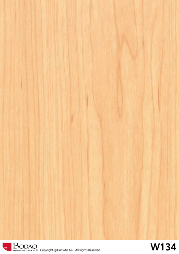 Bodaq W134 Standard Wood Interior Film Architectural Finishes