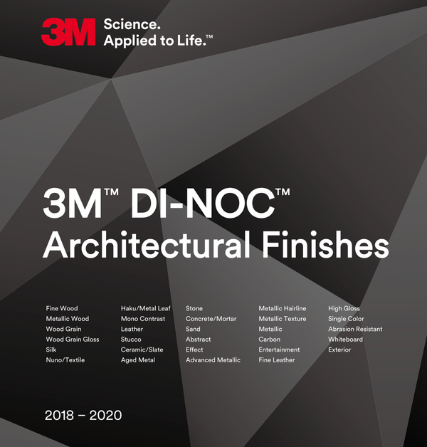 3M Di-noc Sample Book PDF File 2018-2020