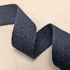 black twill tape
