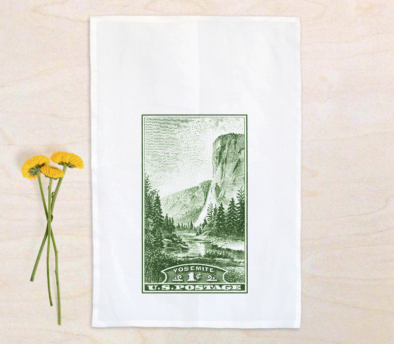 100% Cotton Flour Sack Tea Towel with custom print - Art Print Club