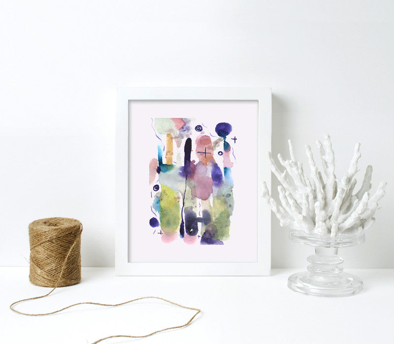 8x10-white frame with archival print - Art Print Club