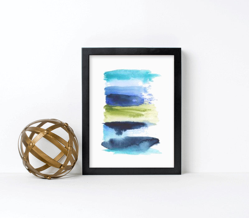 9x12-black frame with archival print - Art Print Club