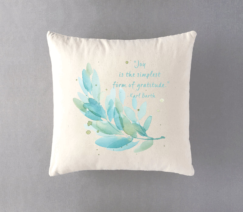 100% Natural Cotton Twill Cushion with custom print_s