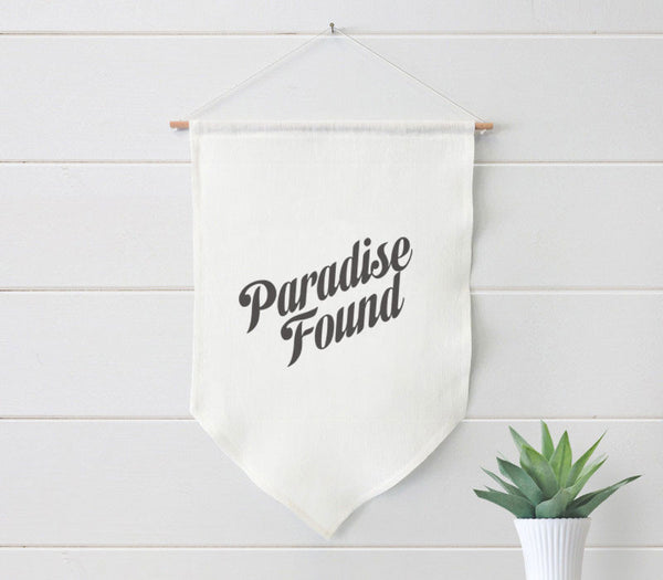 Farmhouse Linen Banner with Custom Printing