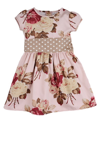 Persnickety Girl's Pink Emma Dress