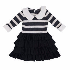 Persnickety Girl's Black Macie Jane Dress