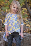 Persnickety Girl's Multi Color Juliet Top
