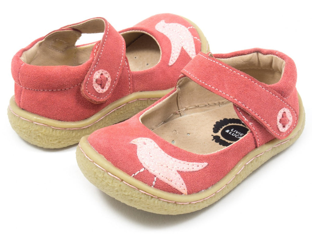 Livie & Luca Girl's Pio Pio Coral Shoes