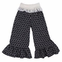 Persnickety Girl's Black Bell Pant
