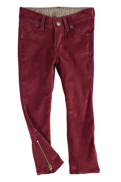 Persnickety Girl's Red Denim Skinny Jean