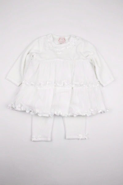 Kate Mack Baby Girl's Dress & Leggings Set