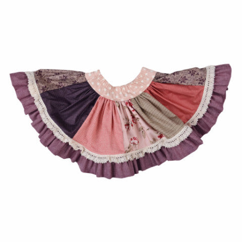 Persnickety Girl's Purple Paige Skirt