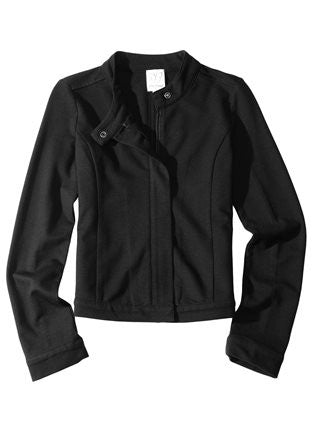 Ella Moss Girl Zip Front Jacket